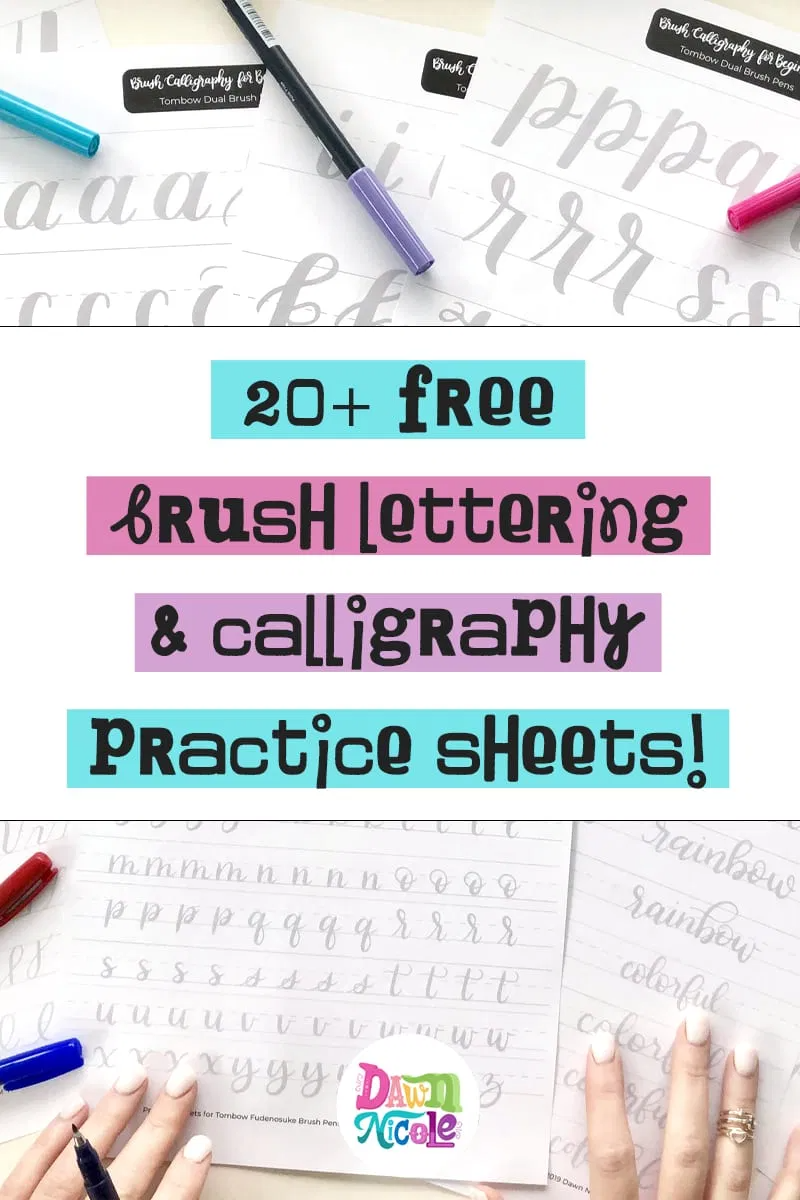 20 Free Brush Lettering Practice Worksheets In 2020 Brush Lettering Practice Lettering Practice Hand Lettering Worksheet [ 1200 x 800 Pixel ]