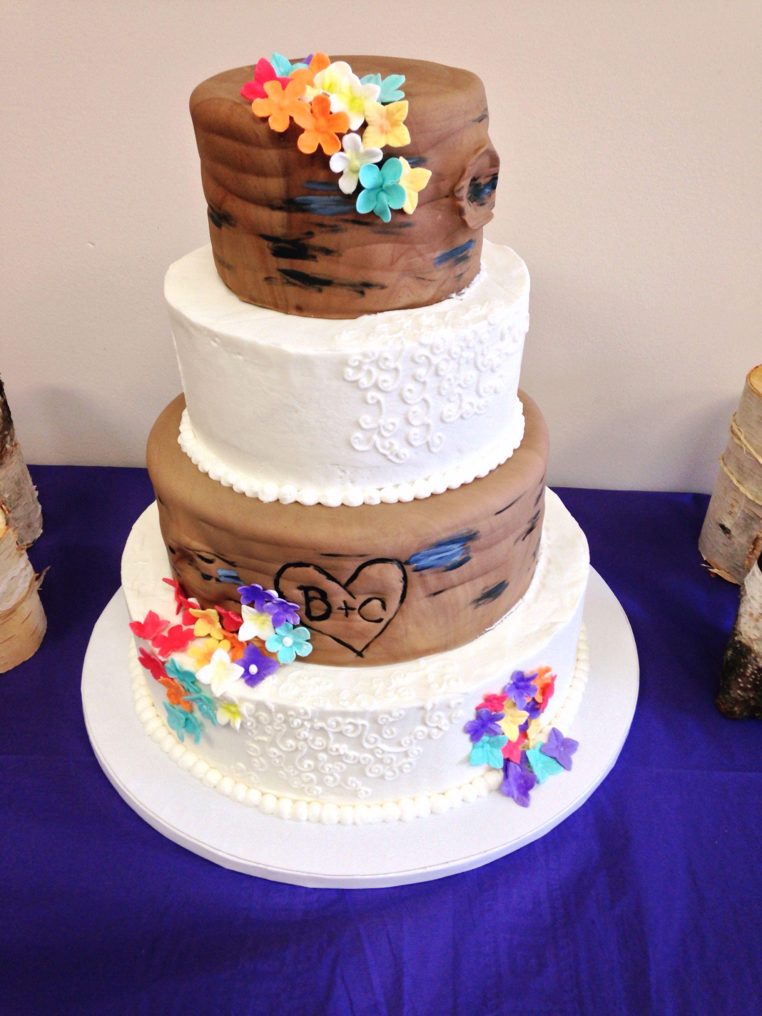 Rustic Wedding Cake, by Amy Hart