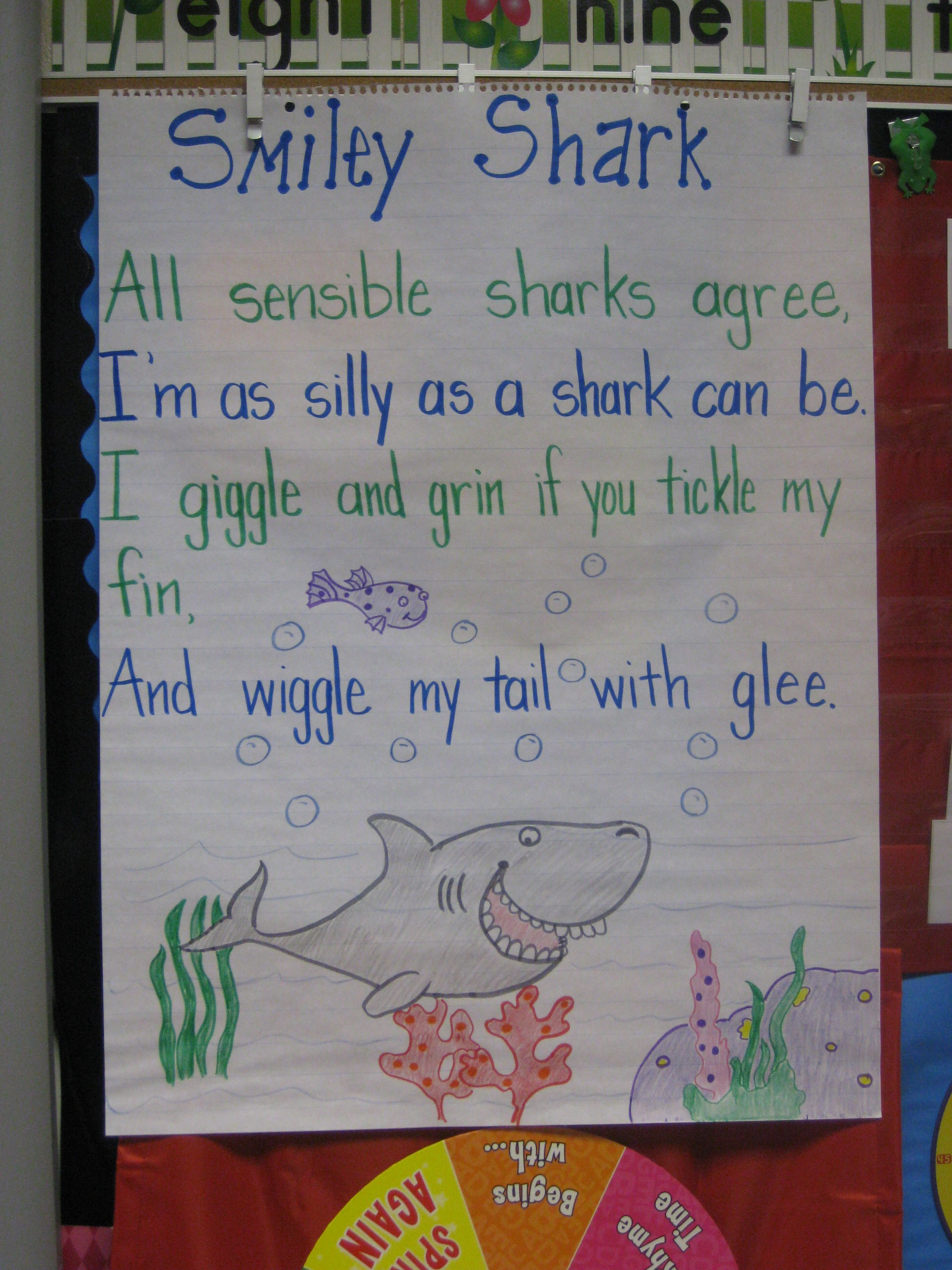 Ocean Unit Mrs Jump S Kindergarten Class May