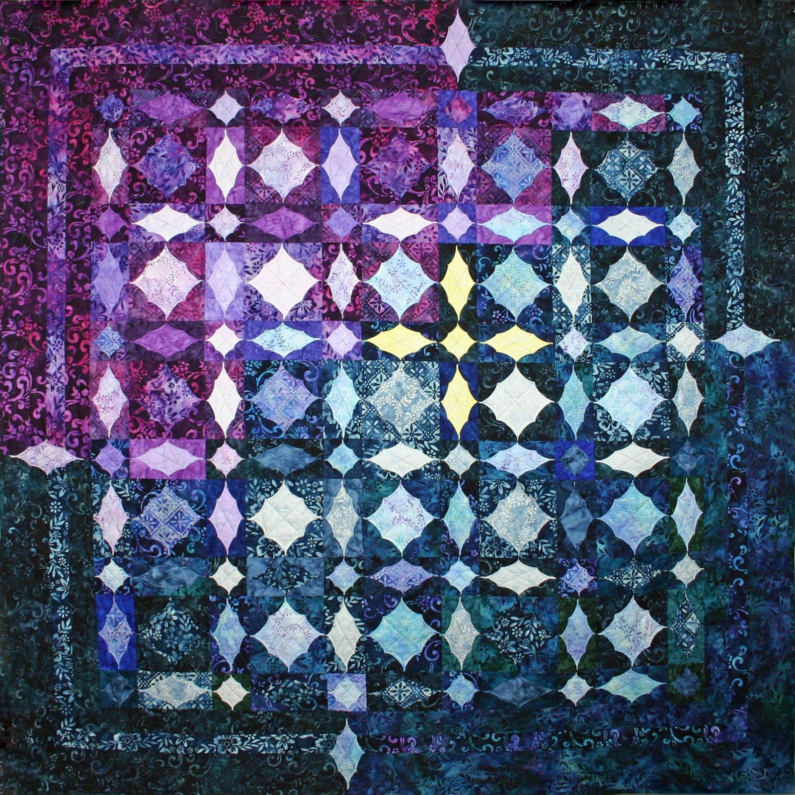 Storm-at-Sea Quilts, free block diagrams and patterns | Pinterest ...