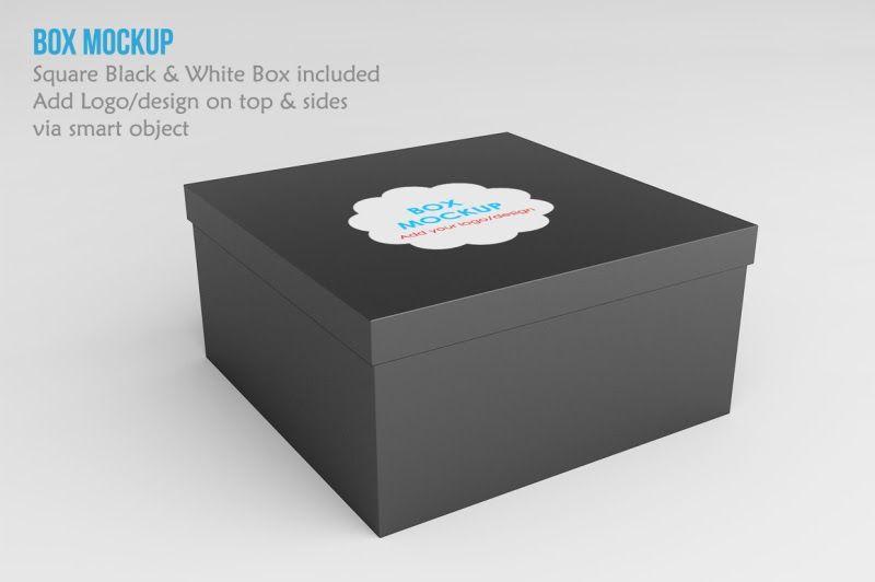 Download Download Square Box Mockup PSD Mockup in 2020 | Design ...