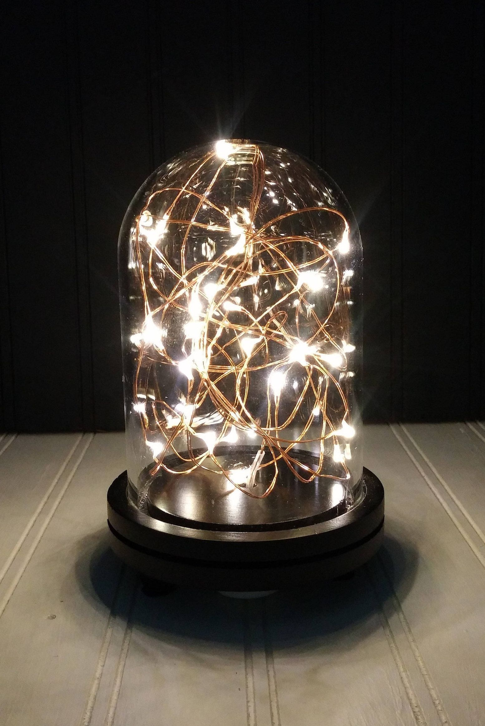 Small Dome With Starry String Lights Battery Operated By Mandkrusticcustoms On Etsy