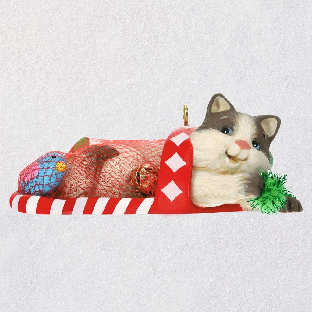 Mischievous Kittens Ornament Keepsake Ornaments Hallmark Hallmark Christmas Ornaments Keepsake Ornaments Ornaments