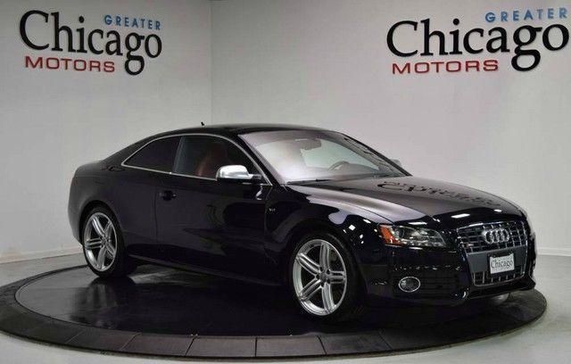 2010 Audi S5 Base Coupe 2 Door 2010 Audi Black On Red Audi S5 Black Audi Luxury Cars For Sale