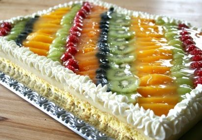 Photo of Obstkuchen mit Puddingfüllung auf dem Blech – Tanja`s glutenfreies Kochbuch