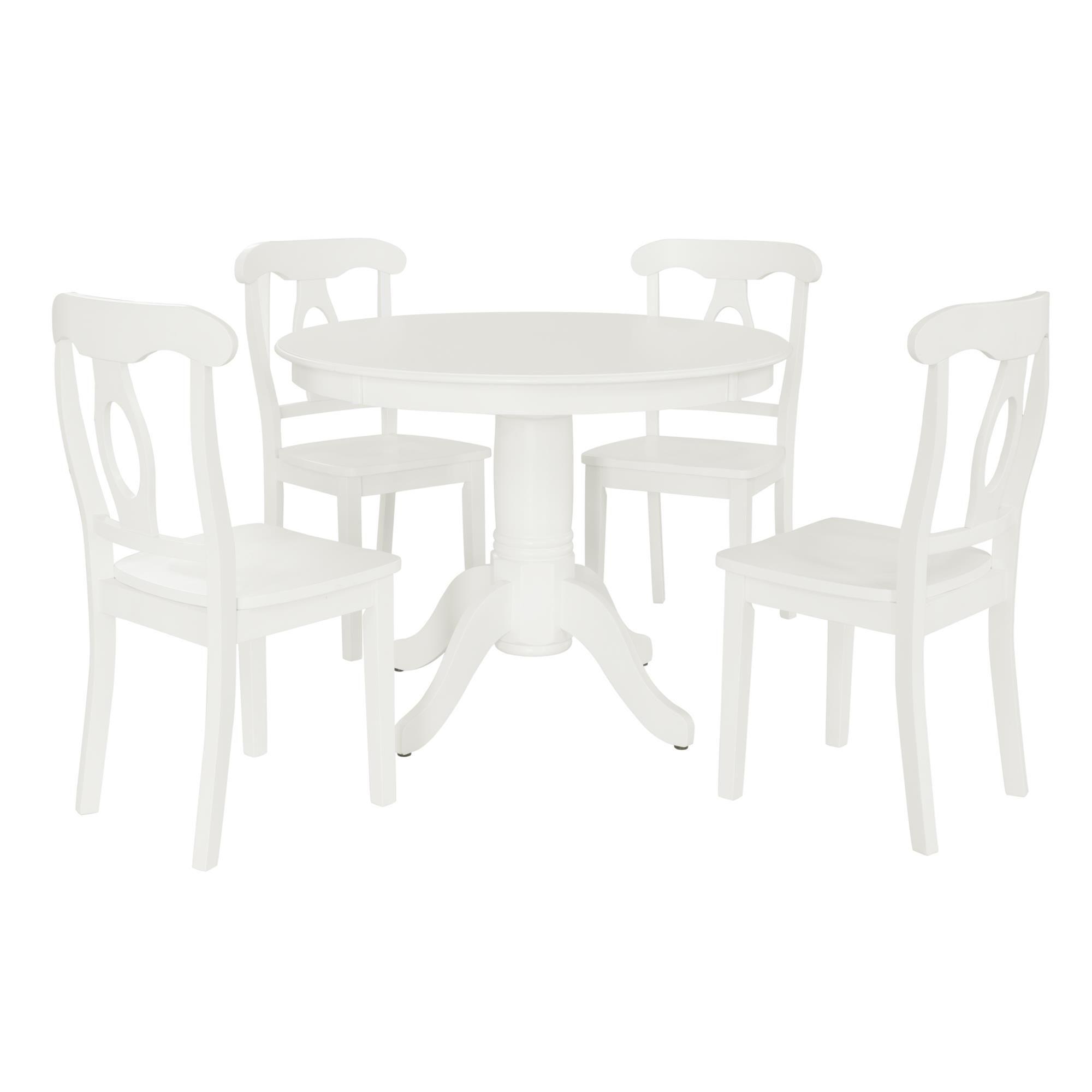 28+ Dorel home aubrey 5 piece traditional height pedestal dining set Best