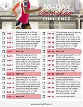 30 Day Cardio Challenge I39ve got this I can do it 30 Day Cardio Challenge Ive got this I can do it