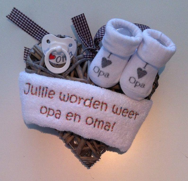 Betere Opa en Oma worden. | Baby aankondiging JZ-52