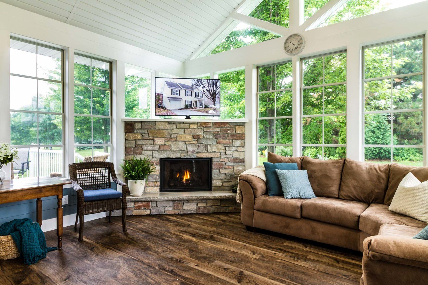 Three Season Porch Home Addition with a Kingsman Marquis ...