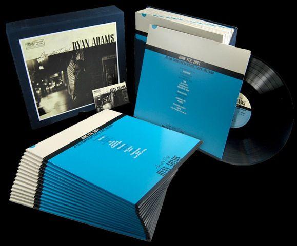 Ryan Adams Live After Deaf 15x Lp Live European Tour Vinyl Box Set Ryan Adams Boxset Lp Box