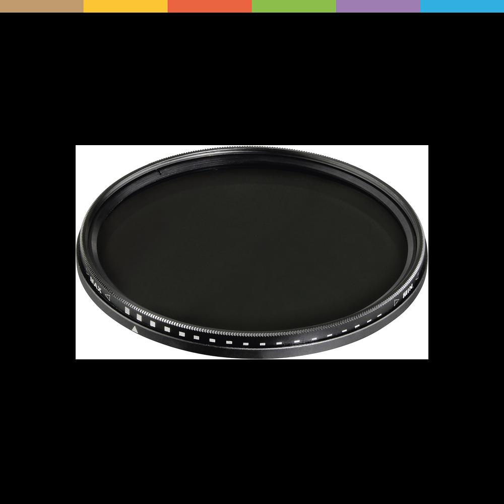 Grau-Filter Vario ND2-400 (58mm, ND- / Graufilter)