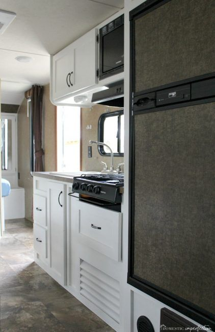 Painting RV Cabinets (and what I did wrong)   Cheap ...