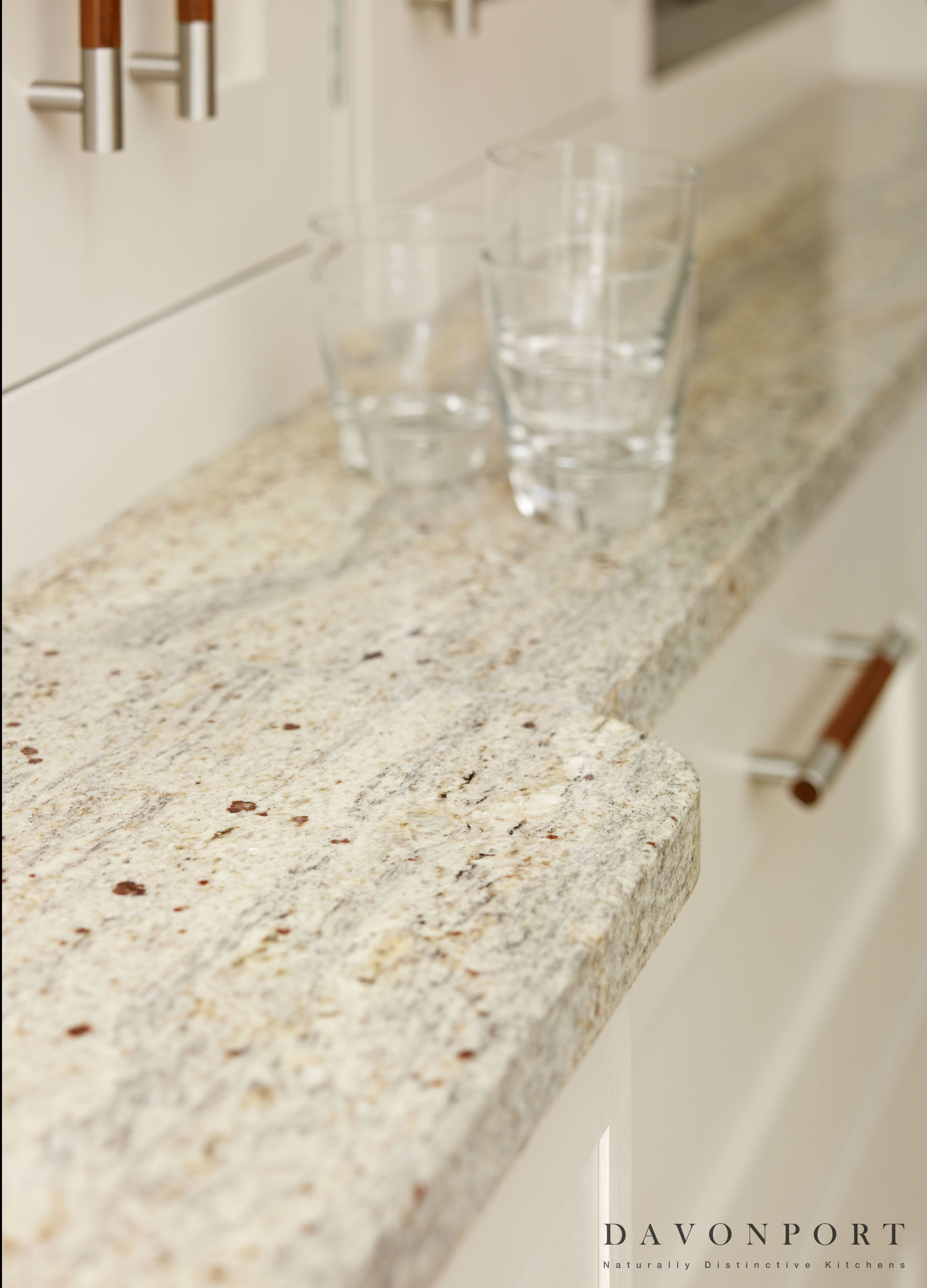 The Kashmir White Granite Worktops Are Perfectly In Keeping With The