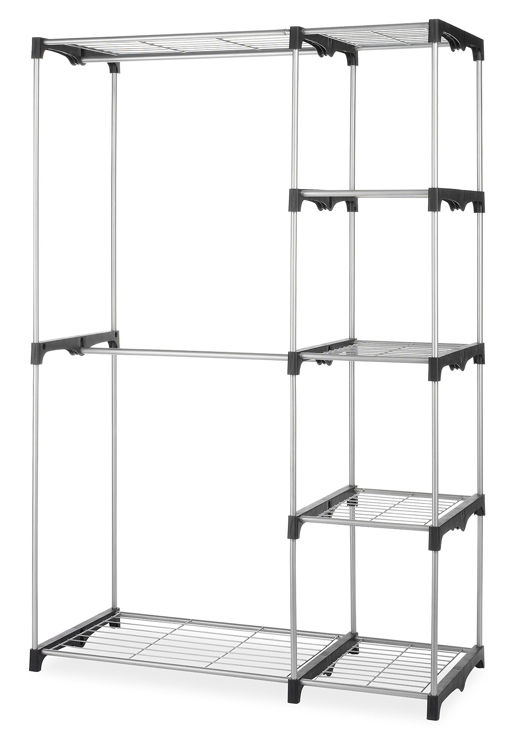 Multi Cube Modular Closet Organizer Stacker Clothes Wardrobe Rack Shoes Shelving Free Standing Closet Portable Closet Stand Alone Closet