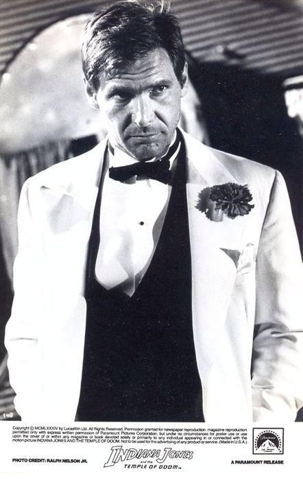 Harrison Ford looks amazing as Indiana Jones.