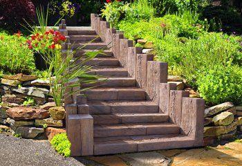 Linie dřeva – schody, světlý dub
