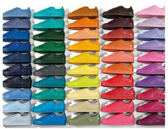 adidas superstar colors release