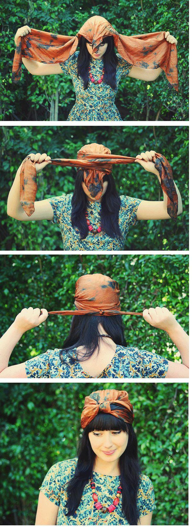Dies wäre perfekt für schlechte Tage. Oder jeden anderen Tag! - Outfit.GQ #headwrapheadband