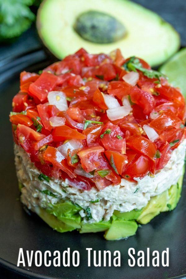 Photo of Avocado Tuna Salad Recipe   Home. Made. Interest.
