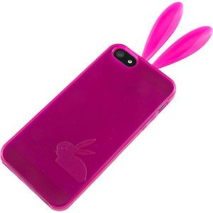 #Bunny TPU Skin Cover for Apple #iPhone 5, Magenta $10.79 From #DayDeal