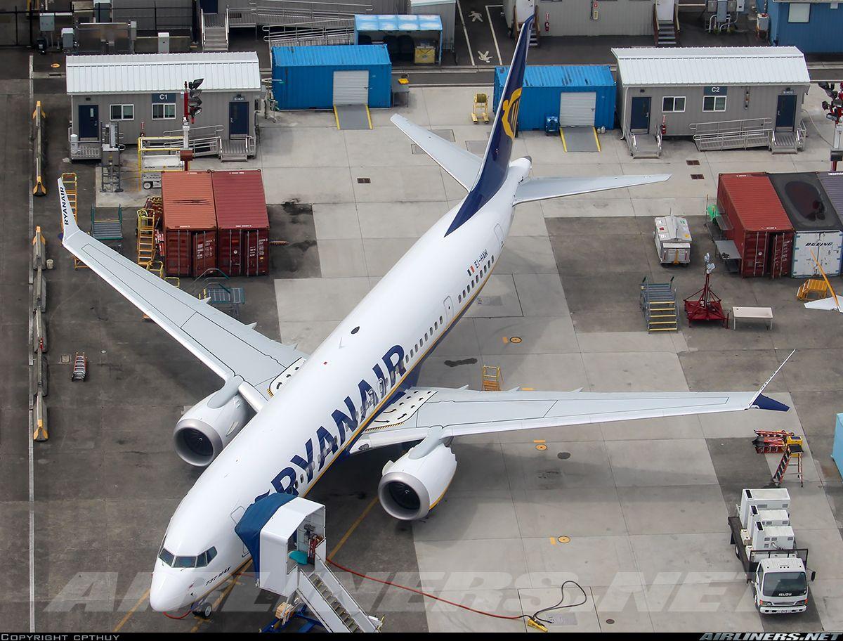 Boeing 737 8 Max Ryanair Aviation Photo 5544145 Airliners Net Boeing 737 Boeing Ryanair
