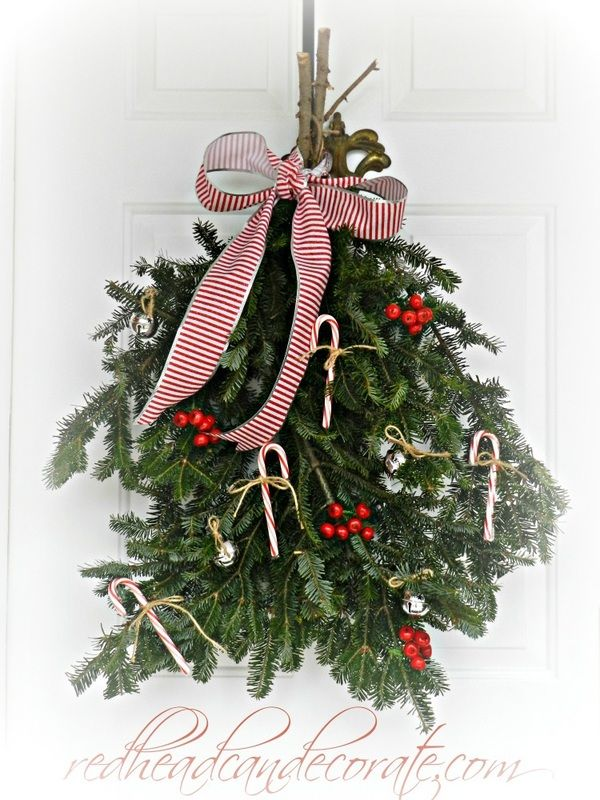 Outdoor Christmas Decor Redhead Can Decorate Christmas Diy Outdoor Christmas Decorations Christmas Swags