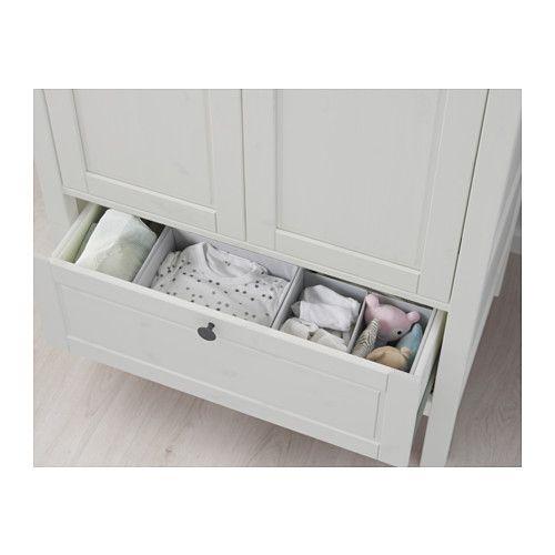 SUNDVIK Kleiderschrank, weiß | Babyzimmer, Einrichten und Wohnen und ...