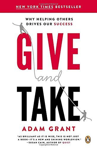 Give and Take: Why Helping Others Drives Our Success by Adam M. Grant http://www.amazon.com/dp/0143124986/ref=cm_sw_r_pi_dp_Ewo1vb1DS79WM