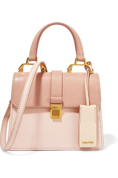 MIU MIU Madras Mini Textured-Leather Shoulder Bag.  miumiu  bags  shoulder  bags  hand bags  suede 61d06aaf34efd