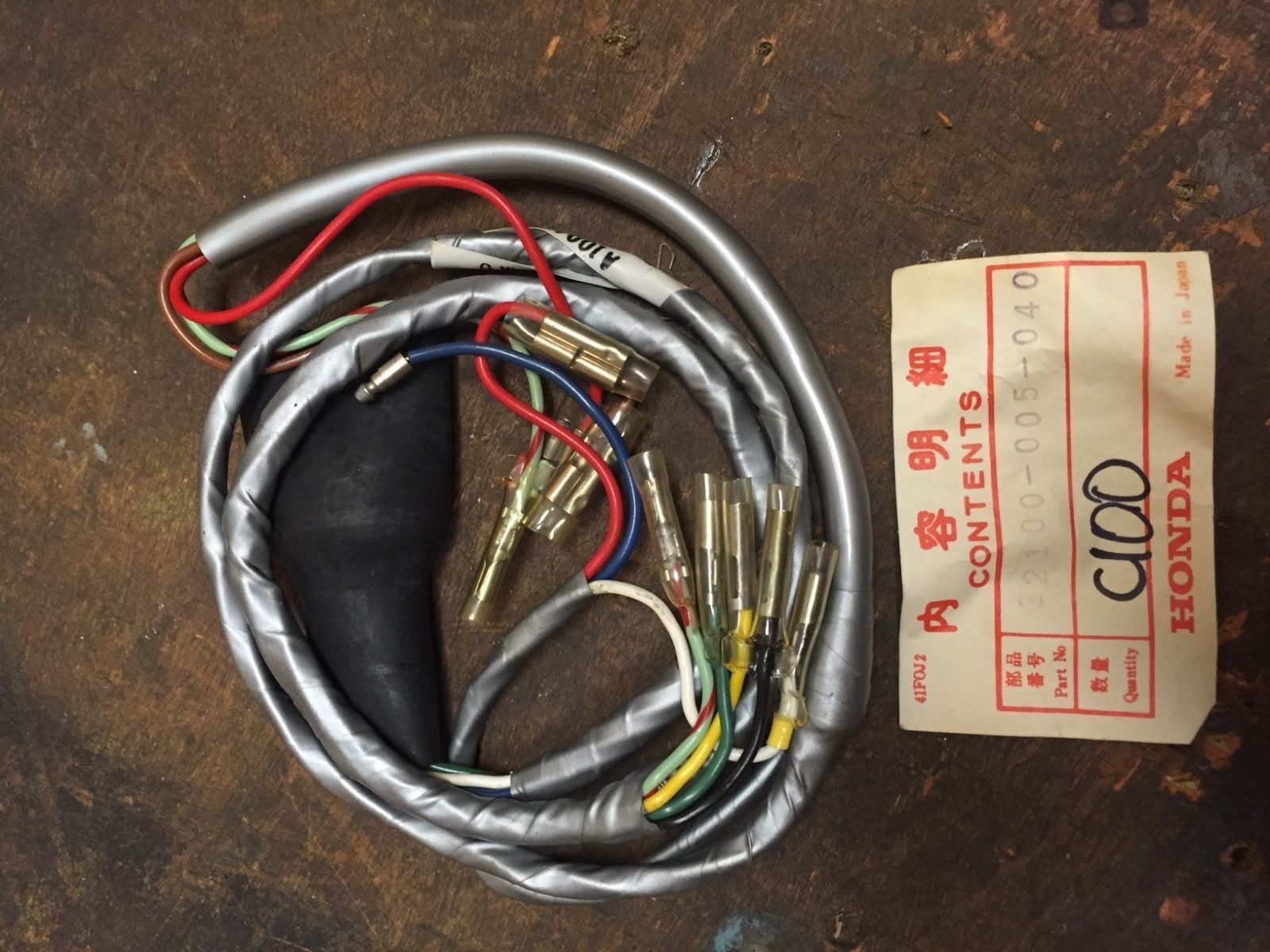 Awesome Great Honda Cl100 Wiring Harness Nos 32100 005 040 2017 2018
