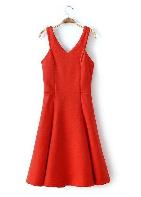 NEW ARRIVAL FASHION LADIES' SEXY SLING BACK ZIPPER BIG SWING DRESS ST613