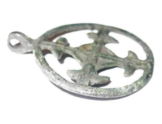 Odins cross viking sun cross pendant heavy copper alloy kievan odins cross viking sun cross pendant heavy by ancientevenings aloadofball Image collections