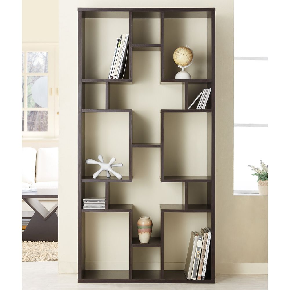 Us Furniture Deals: Furniture Of America Austin Unique Contouring Bookcase