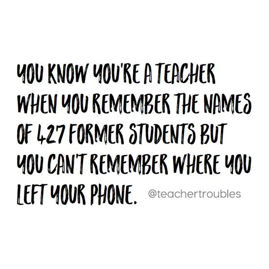 Funny Quotes For Teachers: 34+Signs+You're+a+Type+B+Teacher