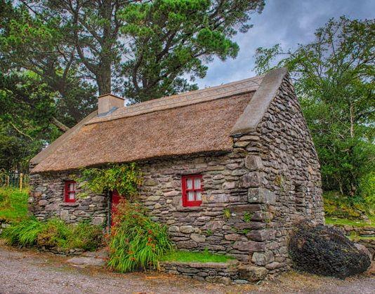 Ireland Stone Building : Irish stone cottage building scottish english