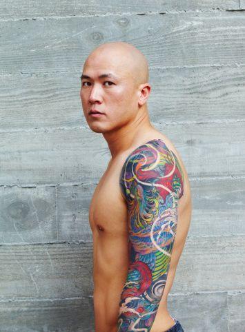 tatouage japonais bras homme