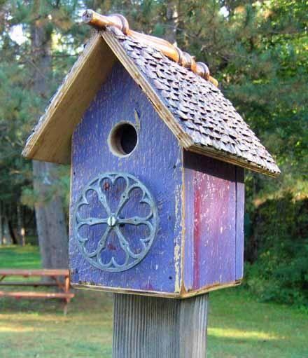 Recycled Birdhouse!
