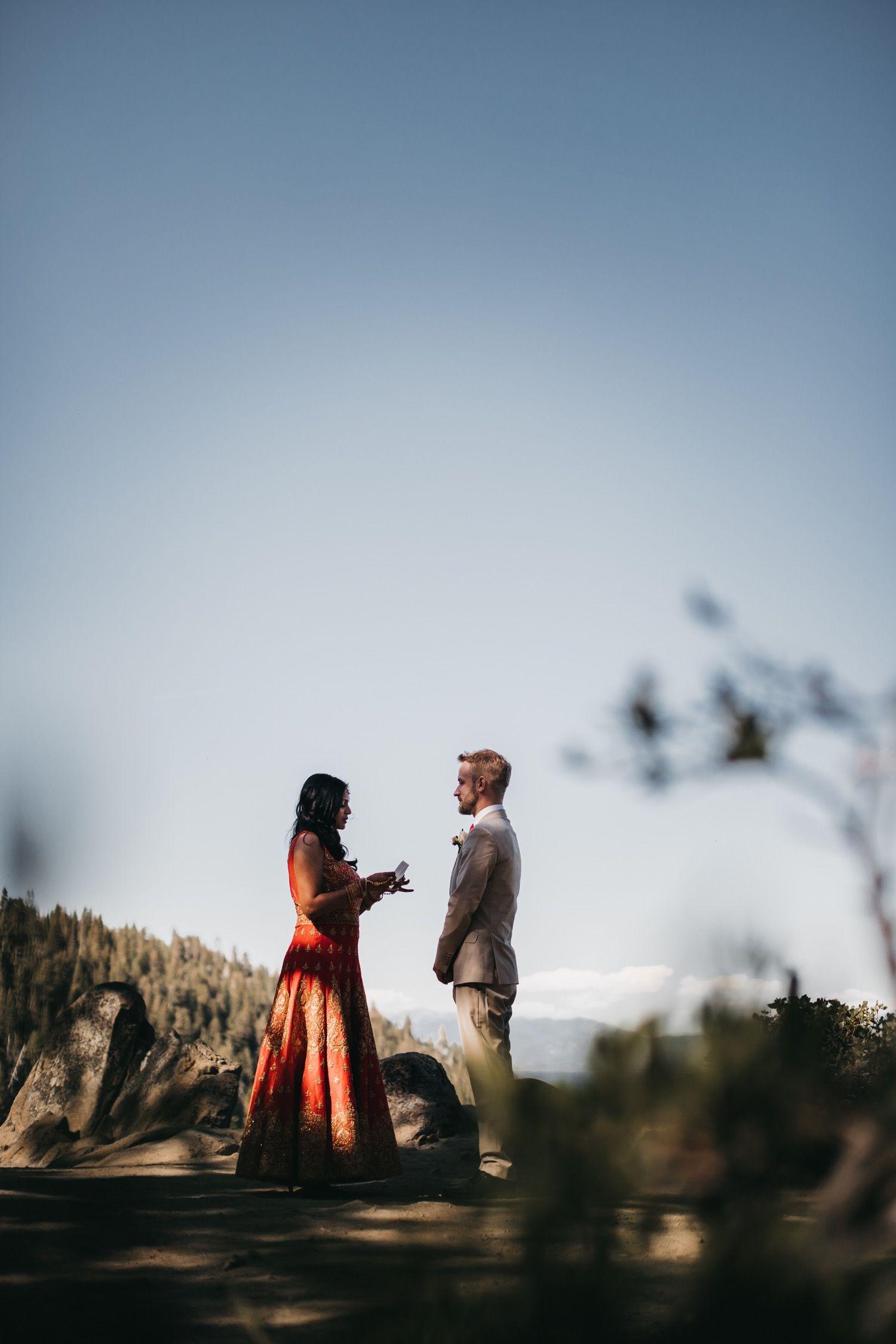 Blog amy jonass indian elopement at emerald bay