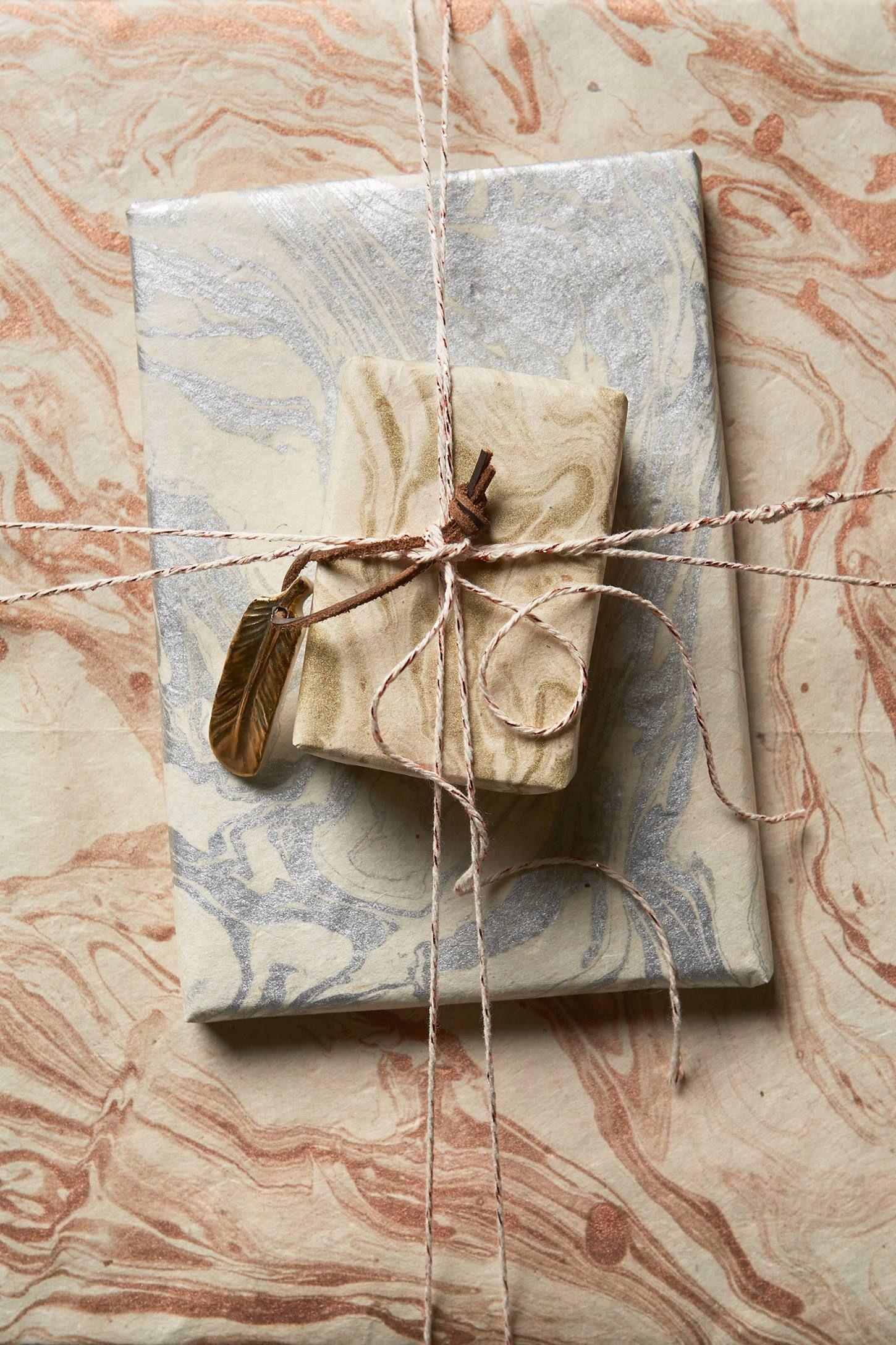 Marbled Wrapping Paper | PAPER | Pinterest | Geschenke verpacken und ...