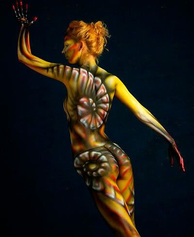 Pin En Bodypaint