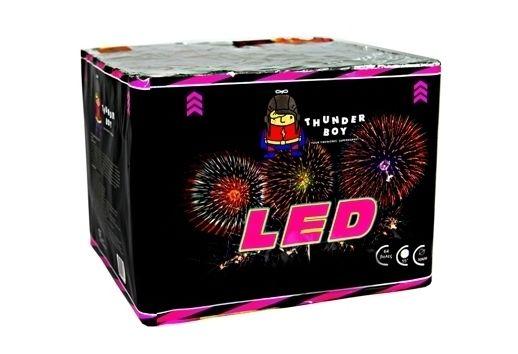 Εναέρια Πυροτεχνήματα : LED - 64 βολές