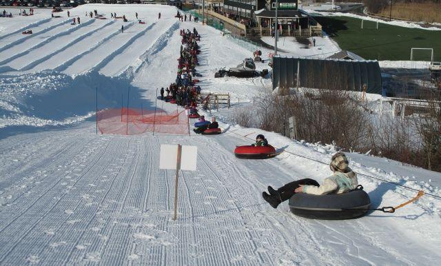 Snow tubing Amesbury MA