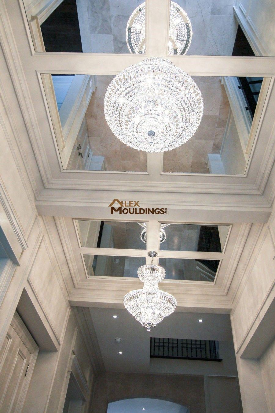 Hallway designed ceiling model home u thornhill pinterest