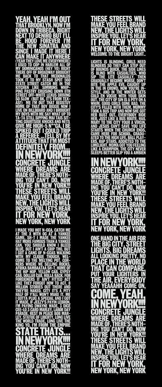 I love this song!!! Empire State Of Mind lyrics by Jay-Z and Alicia Keys on the shape of the Twin Towers