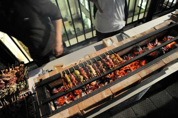 Yakitori charcoal grill rkco bbq grills pinterest