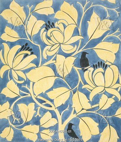 The Tulip Tree, by C.F.A. Voysey. England, 1919