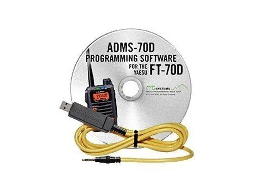RT Systems Programming Software and USB-57B cable for the Yaesu FT-70D Dual Band Digital HT #programingsoftware