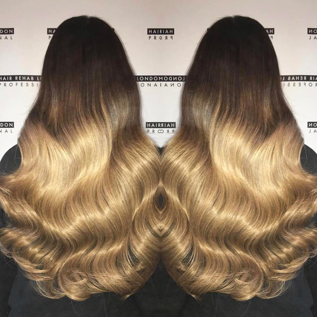 O M B R E Were In Heaven Hair By Lsextensions Using Our Salon