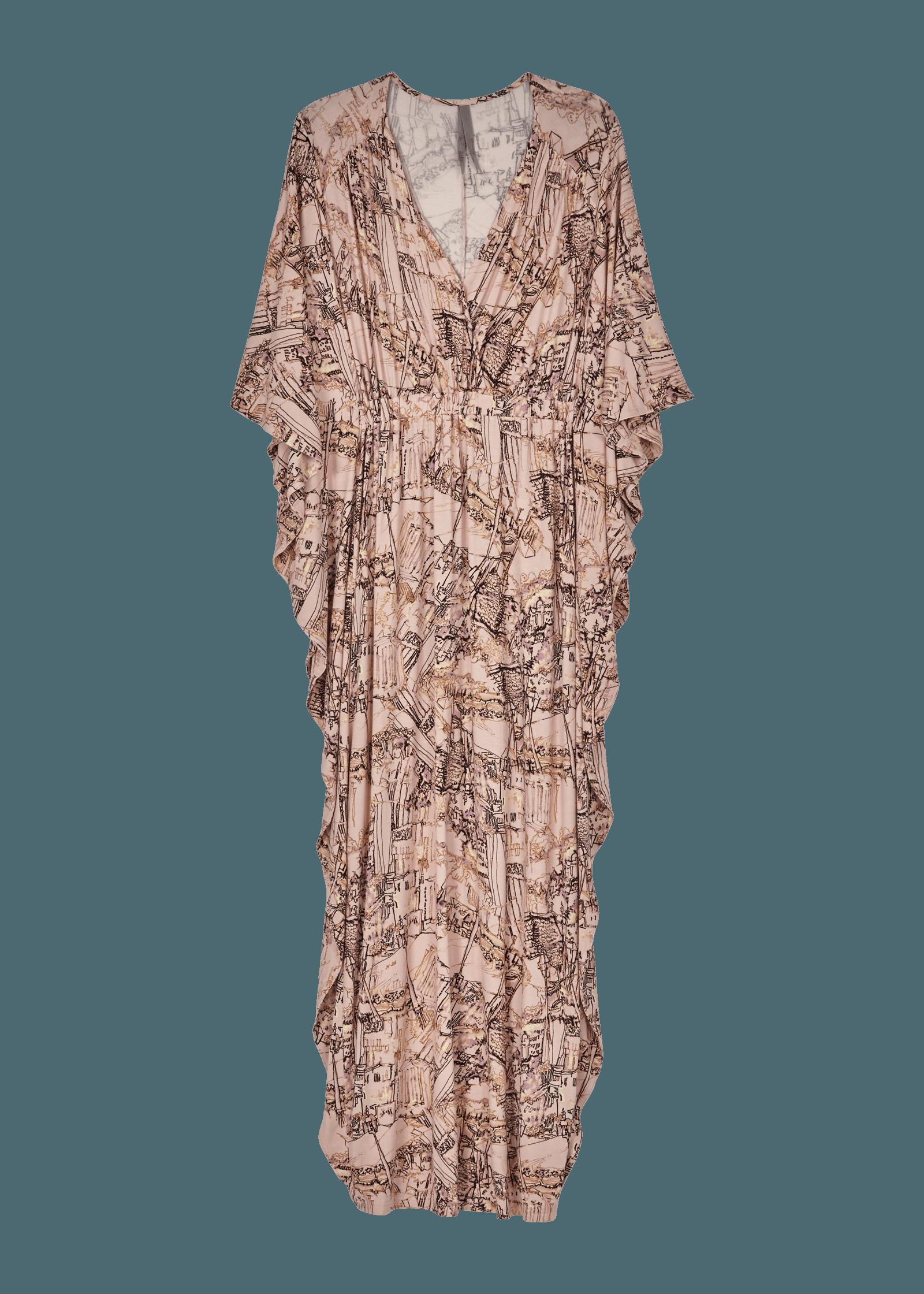 0fe9638c1ea Big City Cascade Drape Dress at Melissa McCarthy Seven7
