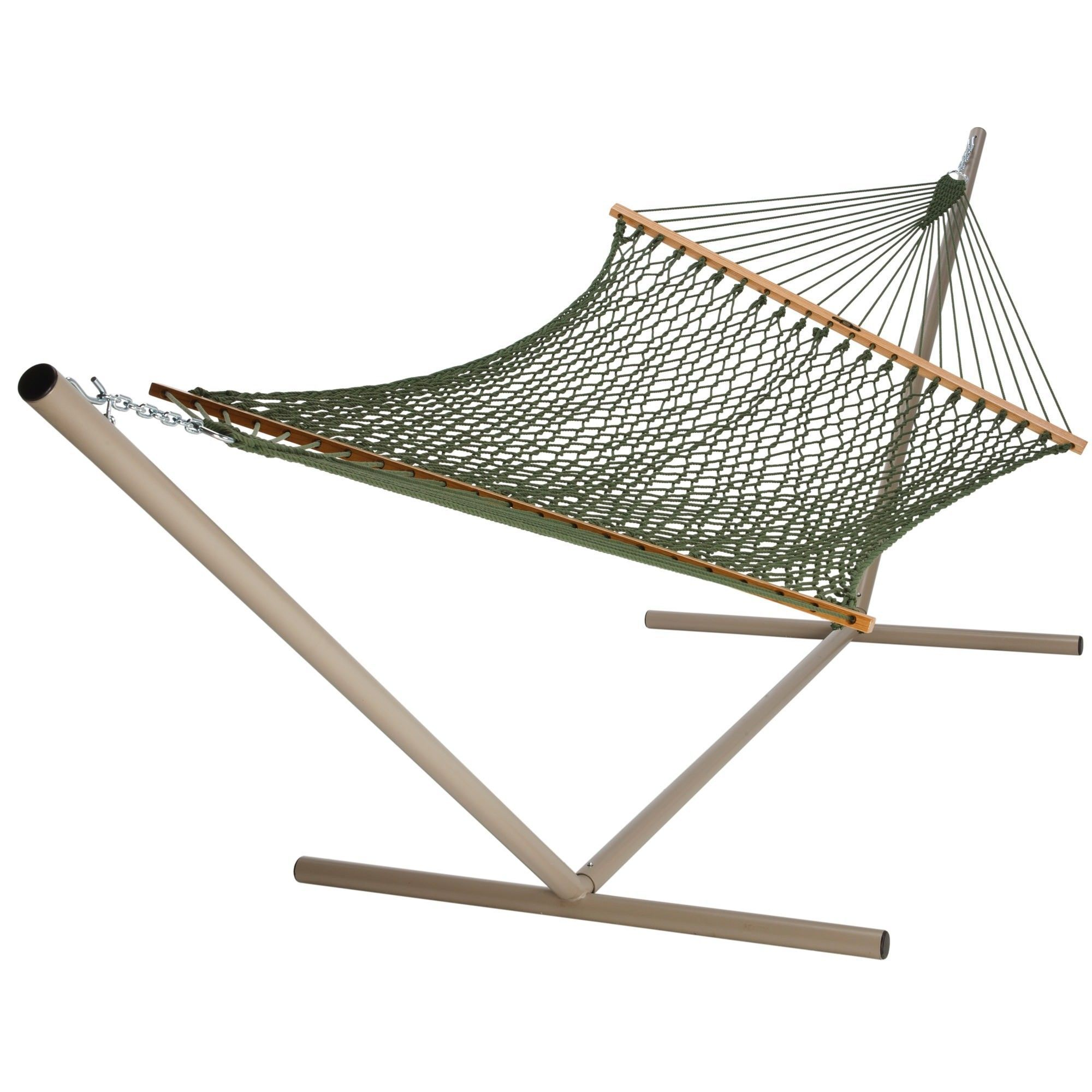 Meadow large duracord rope hammock stand not included rope